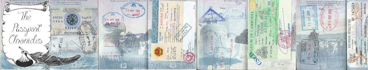 The Passport Chronicles - we should probably come up with a proper tagline soon